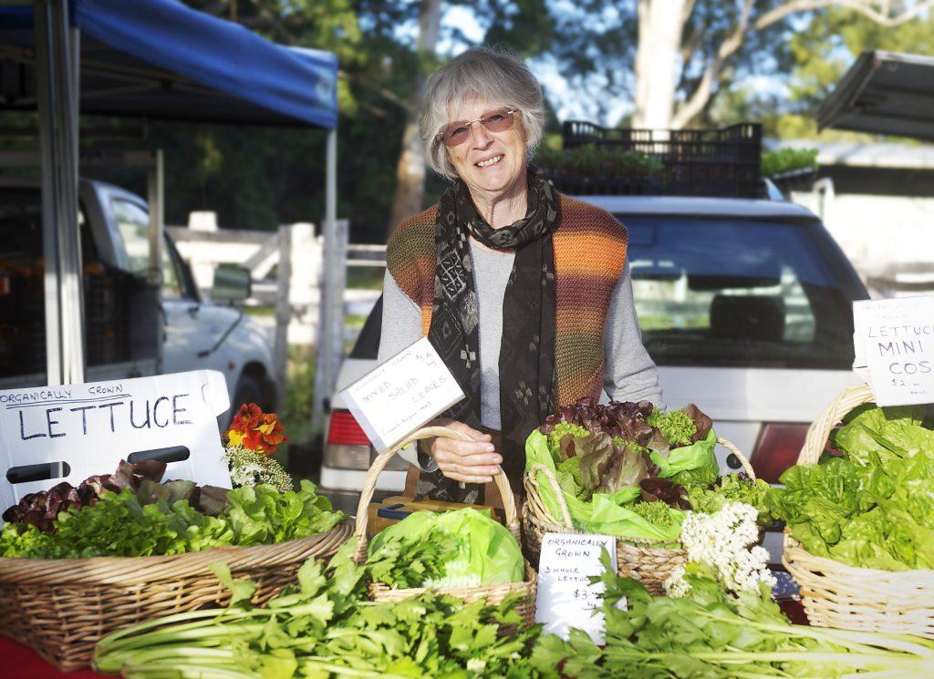 Teven farmer Denise Latham is known for her sweet lettuce.